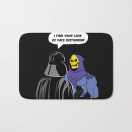 Vader Skeletor I Find your lack of face disturbing  Bath Mat