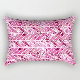 Cherry Bomb Chevron Rectangular Pillow