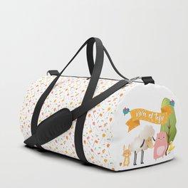 Viva el tofu Duffle Bag