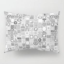 frisson memphis black white Pillow Sham