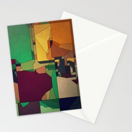 Patchwork of Color Stationery Cards