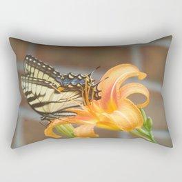 The Focus of Beauty Rectangular Pillow