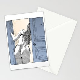 asc 690 - Le service en chambre (You rang?) Stationery Cards