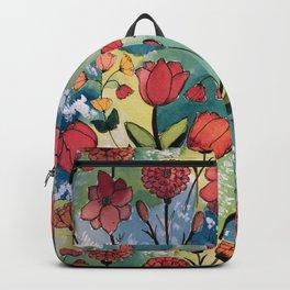 Floral Rhythm Backpack