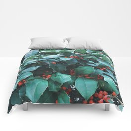 Sprigs of Holly Comforters
