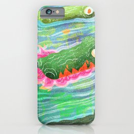 So Spicy Crocodile iPhone Case