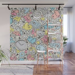 PLAYTIME_C Wall Mural