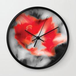 Warm Greetings Wall Clock