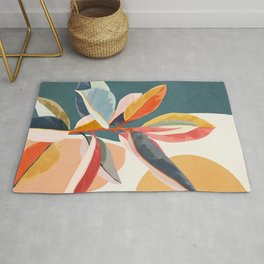 Colorful Branching Out 01 Rug