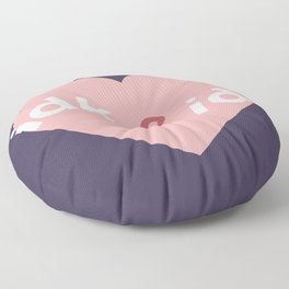 idk & idc Floor Pillow