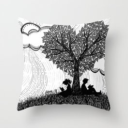 Perfect Afternoon Throw Pillow
