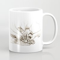 cyrilliart Mugs featuring 2014/2 Direction by Cyrilliart