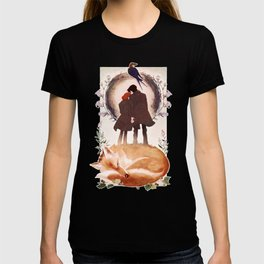 Fable of Mulder and Scully T-shirt