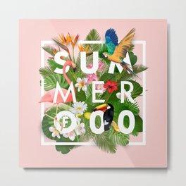 SUMMER of 00 Metal Print