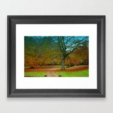 Autumn Leaves (2) Framed Art Print
