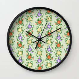 Vine o Glories Wall Clock