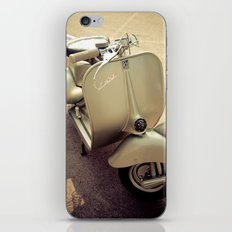 Original Italian vintage vespa iPhone & iPod Skin