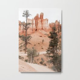 Landscape Of Bryce National Park Photo | Utah Nature Art Print | USA Digital Travel Photography Metal Print
