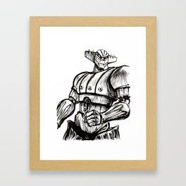 JEEG Framed Art Print