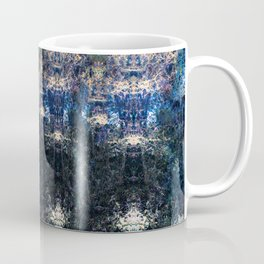 Patterns in Blue and Gold Coffee Mug
