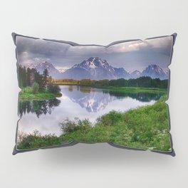 Mt. Moran at Oxbow Bend Pillow Sham