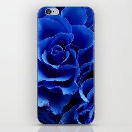 Blue Roses Flowers Plant Romance iPhone Skin