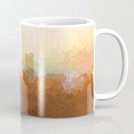 Fort Wayne, Indiana Skyline - In the Clouds Coffee Mug