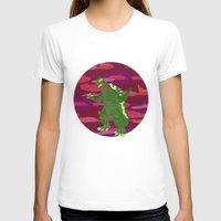 godzilla T-shirts featuring GODZILLA by Mariery Young