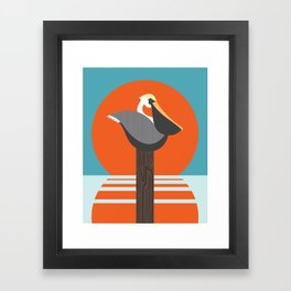 Pelican Framed Art Print