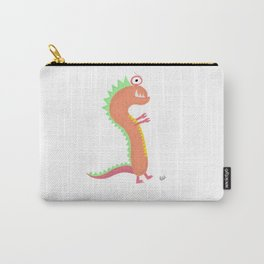 Orange Little Monster Carry-All Pouch
