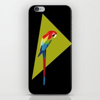 parrot iPhone & iPod Skins featuring parrot by William
