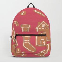 Gingerbread Cookies Pattern  Backpack