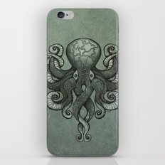 Grey Dectapus iPhone & iPod Skin