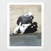 banksy Art Prints featuring BANKSY  by Art Ground