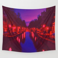 Psychedelic Amsterdam Wall Tapestry