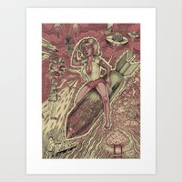 Sex and Violence Art Print