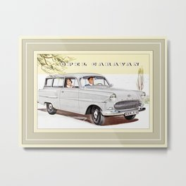 Automotive Art 136 Metal Print