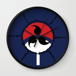 Anti Uchiha Wall Clock