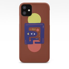 Mother Earth - Minimal Modern Mid-Century Snake iPhone Case