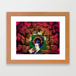 The Human Cave Framed Art Print