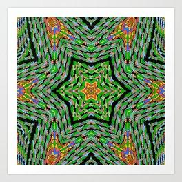 Chrismatic Hexaltations Art Print