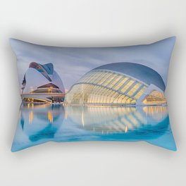CALATRAVA | architect ARCHITECTURE | City of Arts and Sciences III Rectangular Pillow