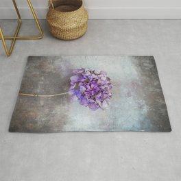Beautiful Lilac Hydrangea Rug