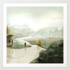 The Visitors Art Print