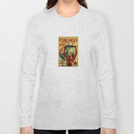 Chicago World's Fair 1933 Vintage Poster Long Sleeve T-shirt