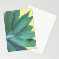 Agave Yellow Pop Stationery Cards