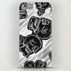 Smile Skulls iPhone 6s Plus Slim Case