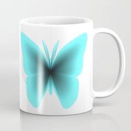 Pretty Wings of Aqua Butterfly Coffee Mug