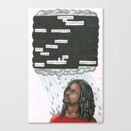 Five. Canvas Print