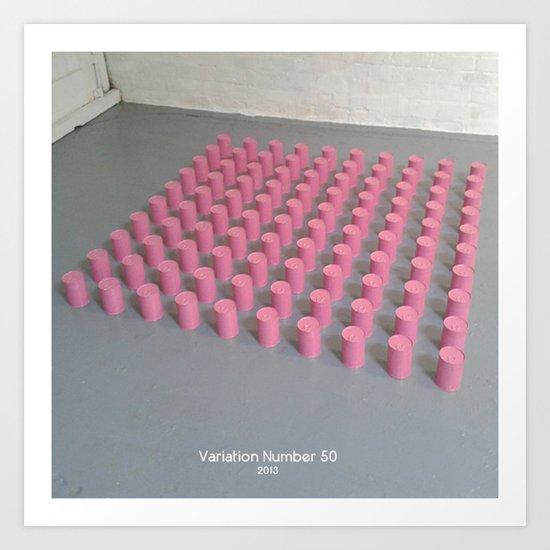 Variation Number 50 (photo) Art Print